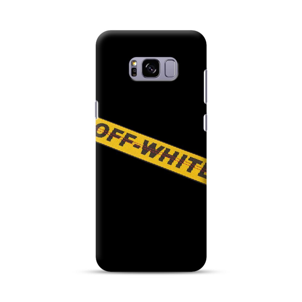 Off White Lining Samsung Galaxy S8 Plus Case Caseformula