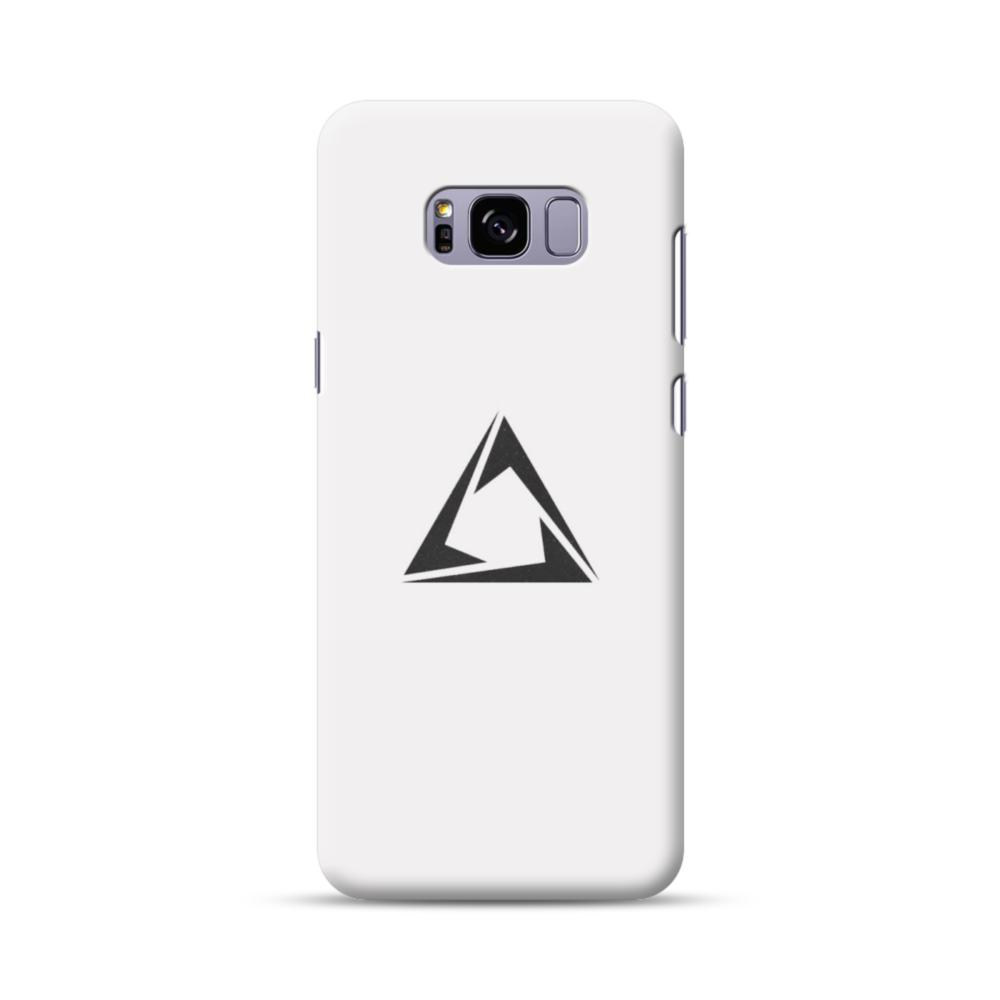 huge discount 1bbae 3e5f6 Minimalist Black Triangle on Gray Samsung Galaxy S8 Plus Case