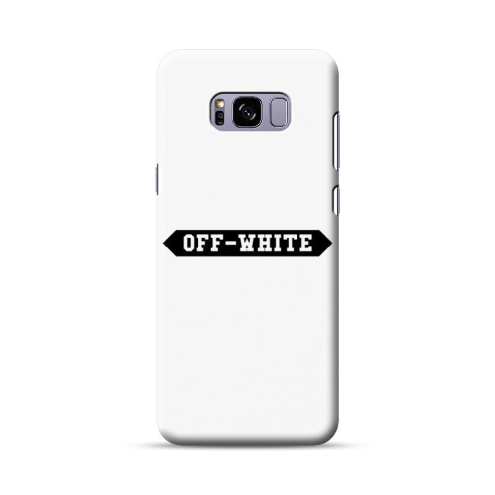 pretty nice ecd96 f8eef Off White Banner Samsung Galaxy S8 Plus Case