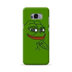 Smug Pepe Frog Funny Meme Samsung Galaxy S8 Plus Case