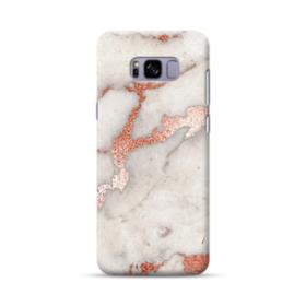 Rosegold Marble Samsung Galaxy S8 Plus Case