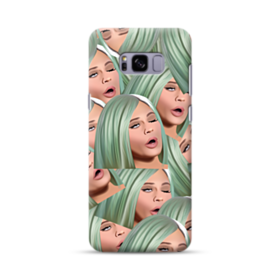 Kylie Jenner funny emoji kimoji Samsung Galaxy S8 Plus Case