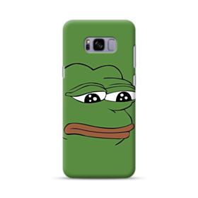 Sad Pepe frog Samsung Galaxy S8 Plus Case