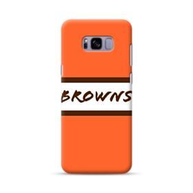 Browns Logo Banner Orange Samsung Galaxy S8 Plus Case