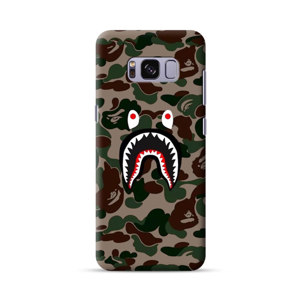 best authentic 54846 a41e4 Shark Camo Samsung Galaxy S8 Case