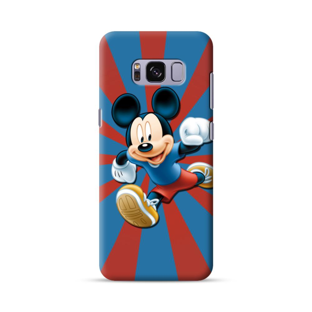 outlet store adc65 156d3 Happy Mickey Mouse Samsung Galaxy S8 Case
