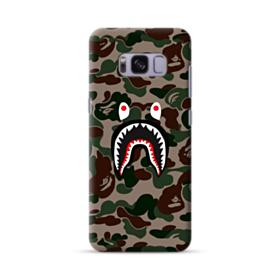 Bape shark camo print Samsung Galaxy S8 Case
