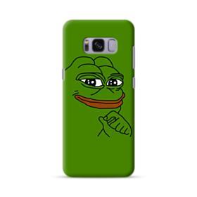 Smug Pepe Frog Funny Meme Samsung Galaxy S8 Case