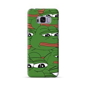 Sad Pepe frog seamless Samsung Galaxy S8 Case