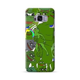 Rare pepe the frog seamless Samsung Galaxy S8 Case