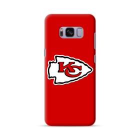 Kansas City Chiefs Team Logo White Samsung Galaxy S8 Case
