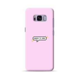 Daddy's Girl Quote Samsung Galaxy S8 Case