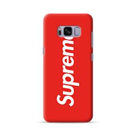 Red Supreme Samsung Galaxy S8 Case