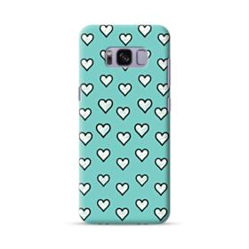 Lovely Hearts in Tiffany Blue Samsung Galaxy S8 Case