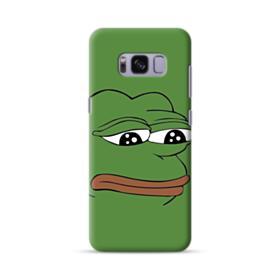 Sad Pepe frog Samsung Galaxy S8 Case