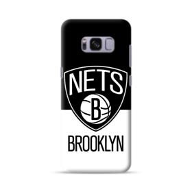 Brooklyn Nets Logo Black White Samsung Galaxy S8 Case