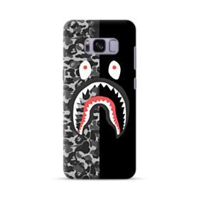 Bape Shark Camo & Black Samsung Galaxy S8 Case