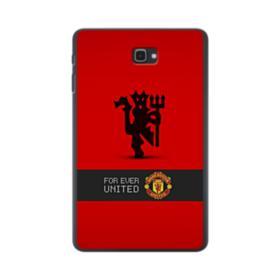 Manchester United Team Logo Red Devil Banner Samsung Galaxy Tab A 10.1 Case