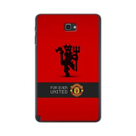 Manchester United Team Logo Red Devil Banner Samsung Galaxy Tab A 10.1 S-Pen Version Case
