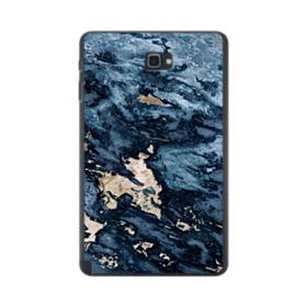 Navy Blue Sarrancolin Marble Samsung Galaxy Tab A 10.1 S-Pen Version Case