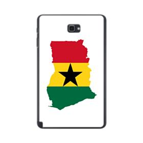 Ghana Flag Silhouette Samsung Galaxy Tab A 10.1 S-Pen Version Case