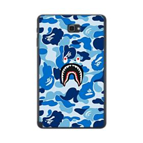 Bape Shark Blue Camo Samsung Galaxy Tab A 10.1 S-Pen Version Case