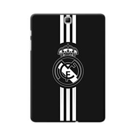 Real Madrid Team Logo Black White Samsung Galaxy Tab A 9.7 Case