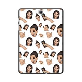 Kim Kardashian Emoji Kimoji seamless Samsung Galaxy Tab A 9.7 Case