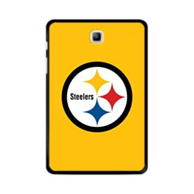 Pittsburgh Steelers Team Logo Round Samsung Galaxy Tab A 8.0 Case