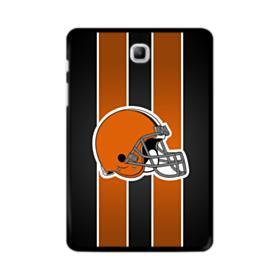 Cleveland Browns Logo Vertical Stripes Samsung Galaxy Tab A 8.0 Case