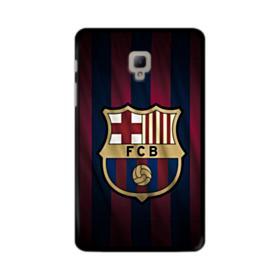 FC Barcelona Logo Fabric Samsung Galaxy Tab A 8.0 (2017) Case
