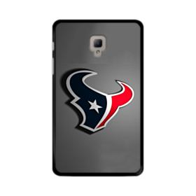 Houston Texans Logo Gray Shadow Plate Samsung Galaxy Tab A 8.0 (2017) Case