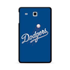 Los Angeles Dodgers Team Silver Logo Samsung Galaxy Tab E 8.0 Case