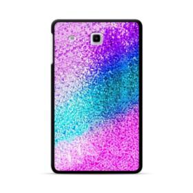 Rainbow Glitter Samsung Galaxy Tab E 8.0 Case