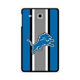 Lions Vertical Gray Stripes Samsung Galaxy Tab E 8.0 Case