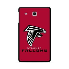 Atlanta Falcons Black Logo Samsung Galaxy Tab E 8.0 Case