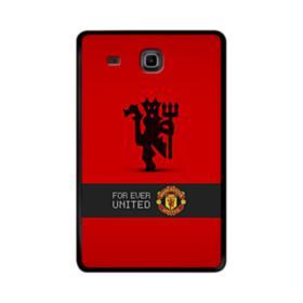 Manchester United Team Logo Red Devil Banner Samsung Galaxy Tab E 9.6 Case