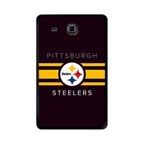 Pittsburgh Steelers Team Logo Banners Samsung Galaxy Tab E 9.6 Case