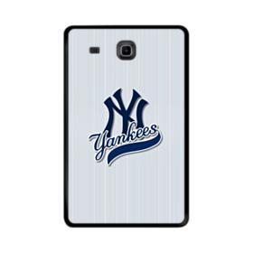 New York Yankees Vertical Lines Samsung Galaxy Tab E 9.6 Case