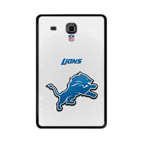 Detroit Lions Gray Mesh Samsung Galaxy Tab E 9.6 Case