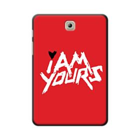 I Am Yours Typography Red Samsung Galaxy Tab S2 8.0 Case