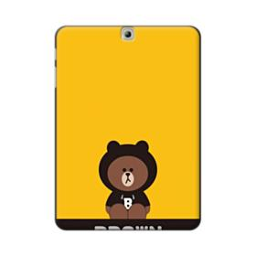 Line Friends Brown Give You Luck Samsung Galaxy Tab S2 9.7 Case