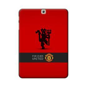 Manchester United Team Logo Red Devil Banner Samsung Galaxy Tab S2 9.7 Case