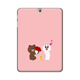 Line Friends Brown And Cony Samsung Galaxy Tab S2 9.7 Case