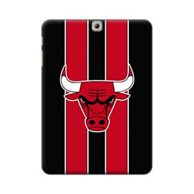 Chicago Bulls Vertical Red Stripes Samsung Galaxy Tab S2 9.7 Case