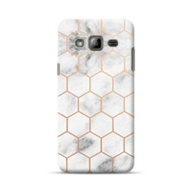 Honeycomb Marble Samsung Galaxy J3 (2016) Case