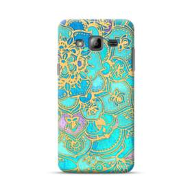 Lake Blue Mandala Pattern Samsung Galaxy J3 (2016) Case