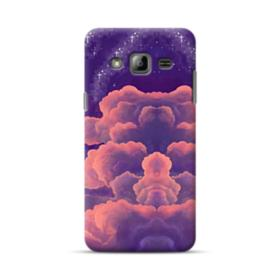 Psychedelic Clouds Illustration Art Samsung Galaxy J3 (2016) Case