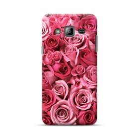 Romantic Rose Pattern Samsung Galaxy J3 (2016) Case