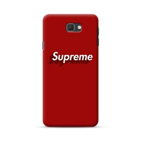 Supreme Red Cover Samsung Galaxy J7 Prime / On7 (2016) Case